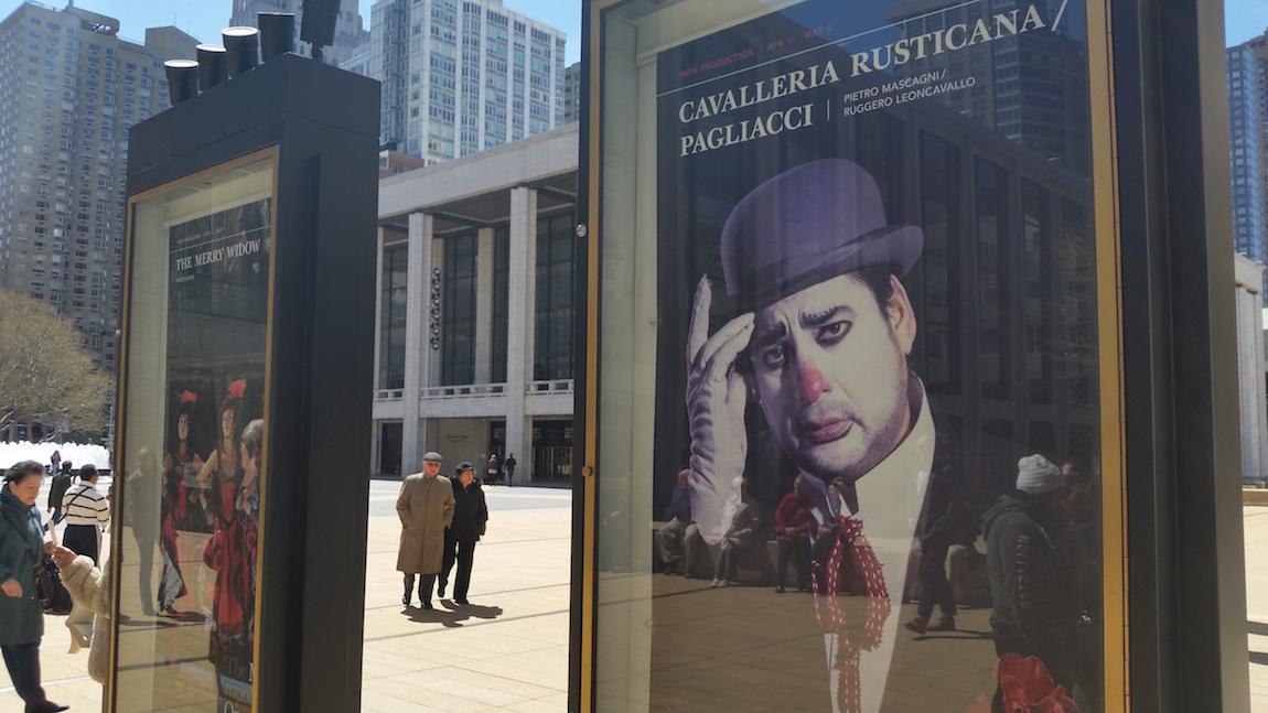 Poster-Lincoln Center-Cavalleria Rusticana-Pagliacci