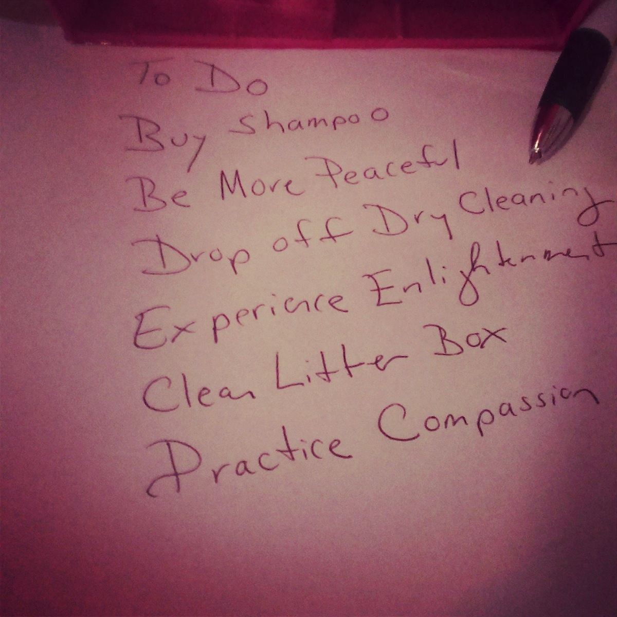 2014.15. To Do List